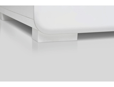 Trixo - Wide Sideboard Dresser Cabinet White Gloss