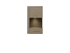 Iberia - Wall-Mounted Glass-Fronted Display Cabinet Left (SFW1WL)