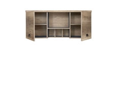 Wall Cabinet with Shelves - Malcolm