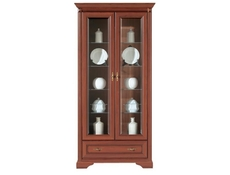 Stylius - Glass-Fronted Dresser Display Cabinet (NWIT 2D1S)