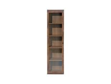 Tall Glass Display Cabinet - Indiana (JWIT1D)