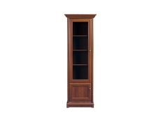 Traditional Dresser Glass Display Cabinet Unit Left - Kent (EWIT 1DL)