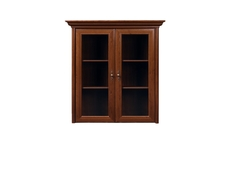 Glass Dresser Cabinet Top Unit - Kent (ENAD 2W)