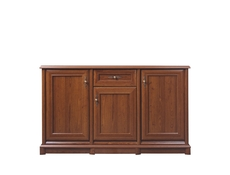 Vintage inspired Large Sideboard Dresser Cabinet Chestnut finish - Kent