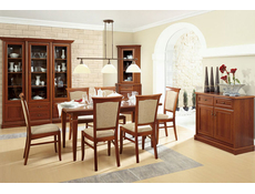 Dining Room Furniture Set 2 Classic Style Traditional Chestnut Finish - Kent (KENT DIN SET2)