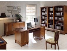 Vintage inspired Large Sideboard Dresser Cabinet Cherry Wood Veneer - Orland