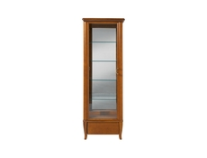 Orland - Tall Glass-Fronted Display Cabinet (REG1W1S/60)