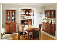 Bawaria - Wide Sideboard Dresser Cabinet (DKOM 4D)