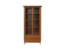 Orland - Tall Glass-Fronted Display Cabinet (REG2W2S/90)
