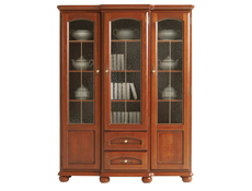 Bawaria - Glass-Fronted Dresser Display Cabinet  (DWIT 3D2S)