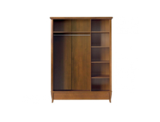 Three Door Wardrobe - Orland (SZF3D1S/140)