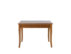Vintage inspired Dressing Table with Drawers Cherry Wood Veneer - Orland (TOL2S)