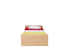 Indi - Single Ottoman Storage Bed with Mattress (LOZ90)