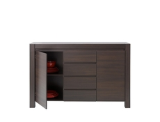 Wide Sideboard Dresser Cabinet in Wenge finish - August (KOM2D4S)