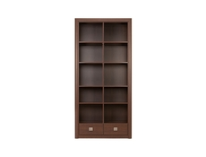 Koen - Bookcase Shelf Cabinet With Drawers (REG2S)