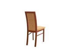 Dining Chair with Mustard fabric - Bolden